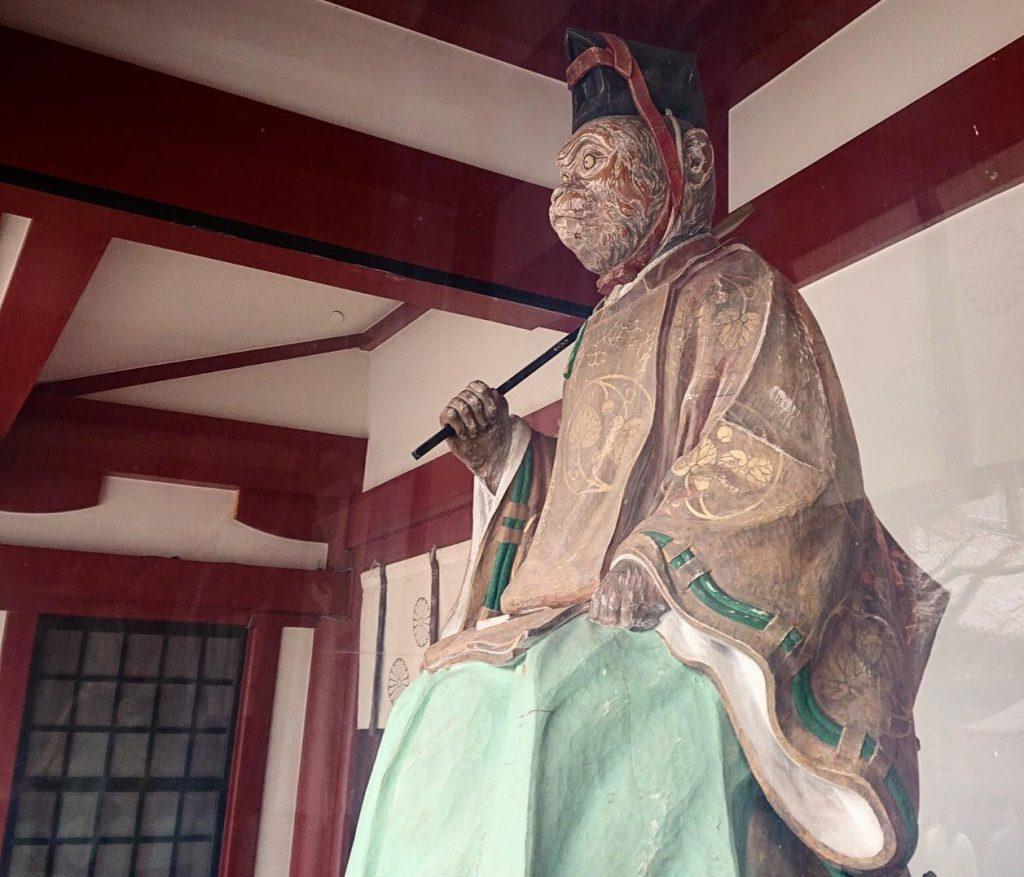 山王日枝神社の神猿
